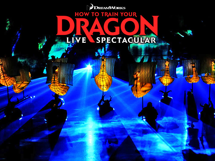 Lightwave's lasers are used to create a variety of special effects and environments in How to Train Your Dragon, from underwater seascapes to the fiery dwelling of a dragon's lair.