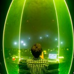 Zedd tours with laser special effects from Lightwave International