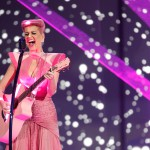Katy Perry Performs with Lightwave International's Laser Special Effects at the Televised American Music Awards